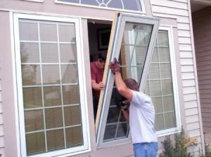Door And Windows Of Wood