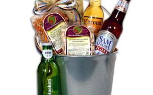 Three-Light-Beer-Bucket-Gift-Basket