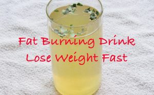 drinks with which you will lose weight